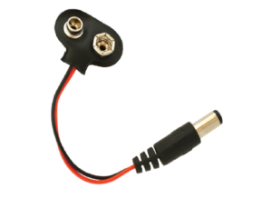 Battery Clip with DC Jack